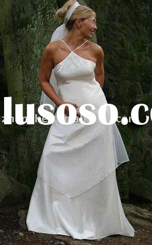 Y- 12 zhenzhen pretty Pregnant women Wedding Dress