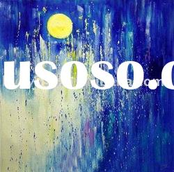 #0322021 100% hand painted abstract oil painting
