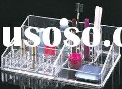 clear acrylic plastic cosmetic makeup box storage