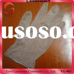 food grade vinyl gloves disposable with ce and iso