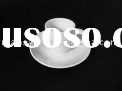 white quality cheap porcelain ceramic coffee cup and saucer