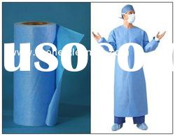 woodpulp nonwoven fabric for medical clothes