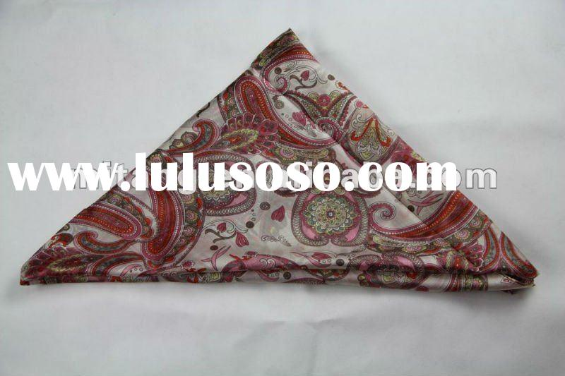 world famous artist painting silk scarf/wholesale silk scarf in stock