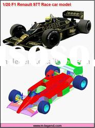 1/20 F1 97T plastic model kit,model car