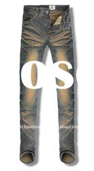 2011 Popular Urban Cotton Pajama Jeans for Tall Men GN360010