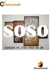 2011 hot sell metal wall home decorative for home decor