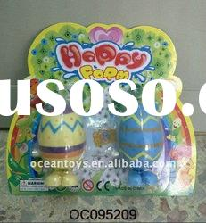 2011 hot selling wind up easter eggs (with 2 painting eggs)---OC095209