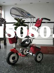 2012 new luxury baby tricycle children stroller pedal trike