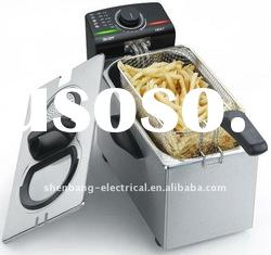 3.5 Liters adjustable thermostat controlled countertop deep fryer