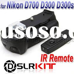 Battery Grip Nikon D700 D300s D300 W/ 2-Stage IR Remote