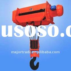 Brazil favored CD/MD model electric wire rope hoist