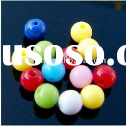 Bulk wholesale fashion acrylic beads for decorations!! Assorted colors!!