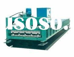 China cold roll forming machine manufacturer for steel roof panel metal panel profile