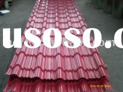 Colored Corrugated roof sheets