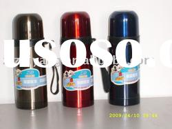 Colourful stainless steel tiger vacuum flask