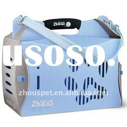 Eco plastic folding pet carrier box with multi-colours available