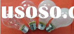 Frosted and clear Incandescent bulb(screw&pin type)