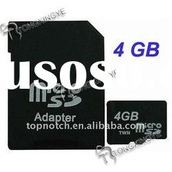 Mini SD Memory Card 4GB, sd card,micro card,sd micro card,