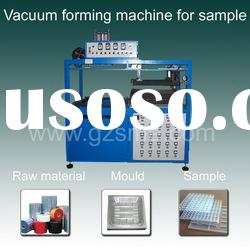 Mini vacuum forming machine for sample