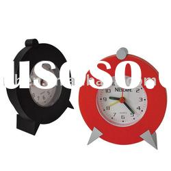 Promotion plastic desk clock/Plastic table clock