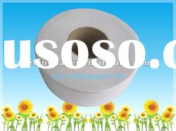 Recycled jumbo toilet tissue paper roll