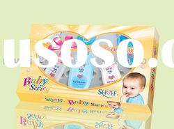 SHOFF brand baby skin care products gift sets made in China