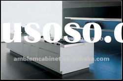 White Lacquer Kitchen Cabinet Stainless Steel Sink