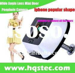 Wide Angle Lens Mini Door Peephole Camera in Iphone Shape