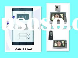 Wired video intercom door phone system for apartment and building