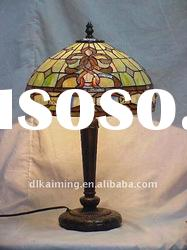 bring bijou cover tiffany stained glass table lamp