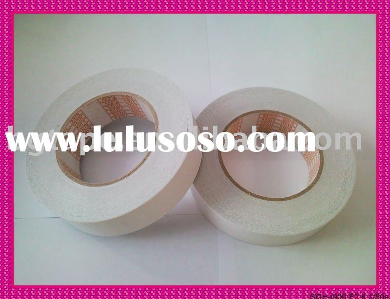 double sided tissue tape with solvent based