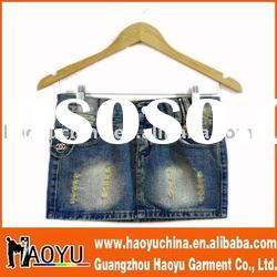 fashion designer lady denim skirts (HY4224)