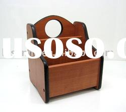 fashion hot selling wooden remote control holder