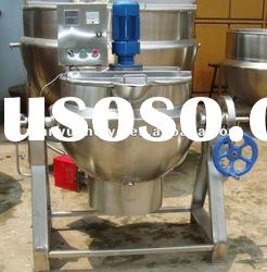 gas burner jacketed kettle cooking pot