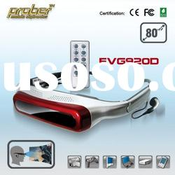 i-Theater/Mobile Theater /Personal Theater/Cinema Video Eyewear Glasses 3D 80inch screen