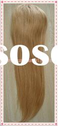 natural straight #18 color Indian remy hair extension (ponytail)