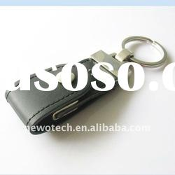 popular OEM rectangle leather USB Flash Drive/usb key from china