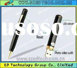 superior Wireless Hidden and mini Camera Pen with 2GB Memory card