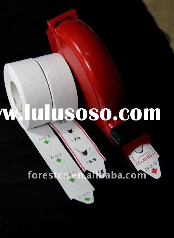 ticket roll paper used in ticket dispenser