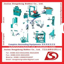 used tire retreading equipment/machinery production line