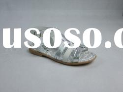 2011 Good Quality New Fashion Kids Girls' Summer Leather Sandals