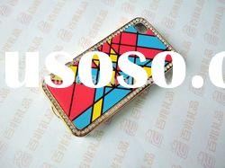 2012 fashional and mixed color silicone mobile phone case