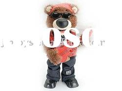B/O Dance Bear with music,b/o toy,electrical animals,b/o animals,Dancing Bear