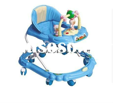 Hot sale Baby walker with rocker function, with music