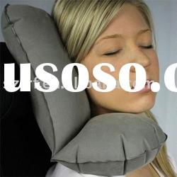Inflatable Neck & Head Rest Travel Pillow