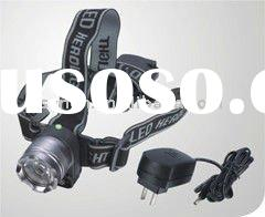 LED rechargeable cree led headlamp