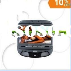 New model 9 inch car DVD player/ car color monitor,roof mounted monitor/auto accessory