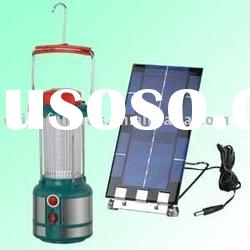 Rechargeable portable led emergency light with Solar Panel