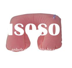 U-Shape Inflatable Travel Neck Pillow For Adults