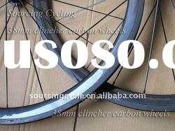 best price 700c 38mm clincher full carbon cycle wheels